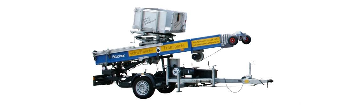 Schwäbische Transporte –Equipment