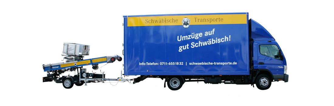Schwäbische Transporte –Fuhrpark