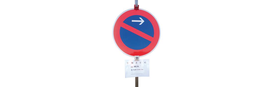 Schwäbische Transporte –Halteverbotzone