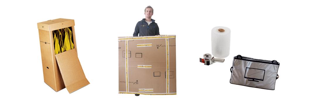 Schwäbische Transporte –Verpackungsmaterial