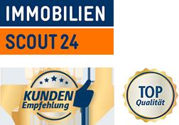 ImmobilienScout24 – Kunden-Empfehlung – Top-Qualität